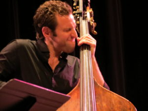 Ranaan Meyer digs into the bassline.